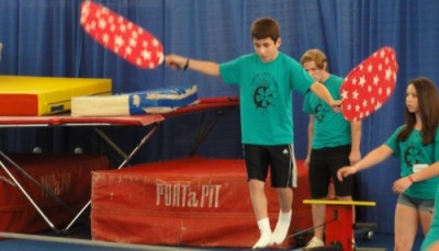 Circus Arts Camp shows how to wire walk, unicycle and swing on the trapeze