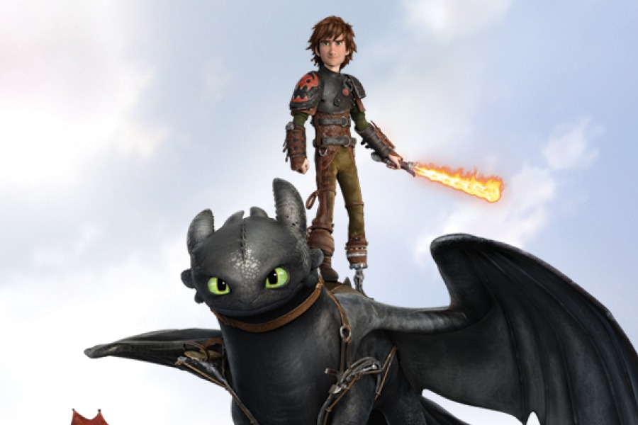 How To Train Your Dragon 2 Hiccup And Toothless Poster Colonial Times : Kick ...