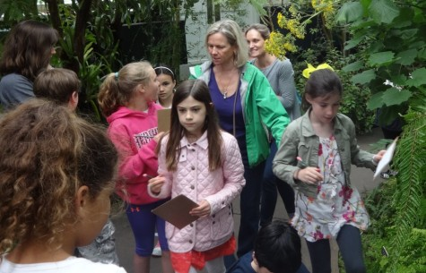 Third grade visits Pelham Palace for meal and botanical gardens for green things (year-end print edition)