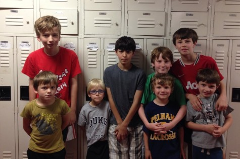 Kindergartners learn from their fifth grade buddies (year-end print edition)