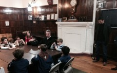 Cub Scouts visit Pelham Court House to learn about criminal trials