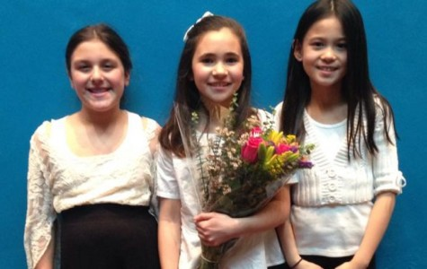 Four kids from fifth grade experience being in huge All County Chorus
