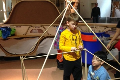Pelham Pack 1 Cub Scouts sleep over at New York Hall of Science