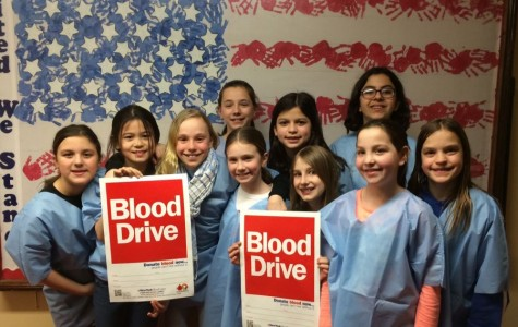 Fourth and fifth graders play big role as helpers at Colonial blood drive