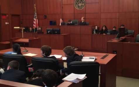 Colonial fifth graders argue mock Supreme Court case in real federal courtrooms