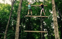 5th grade trip to Ring Homestead features many obstacles and teamwork