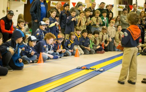 Cub Scouts Pinewood Derby Comes Racing in on February 27