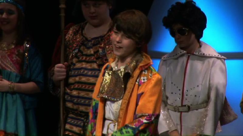 Sam Rodd sings in Joseph.