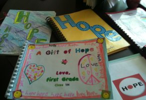 Sending hope to Japan in letters and cards