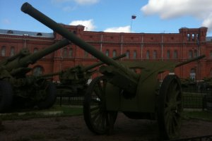 St. Petersburg artillery museum shows weapons from medieval times to now