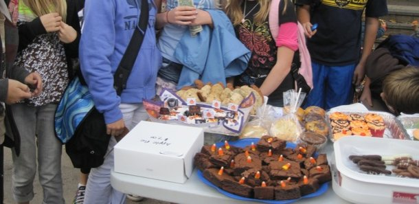 Fifth grade bake sale offers great treats, raises funds for class activities
