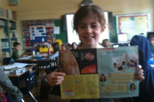 Phoebe Rothschild wins Time 4 Kids competition; essay to be published in Dec. 16 edition