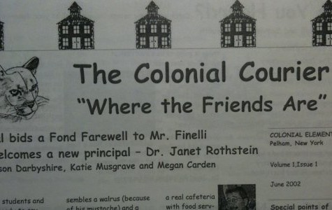 Mrs. Cavalli joins Colonial Times staff as faculty advisor; she started school's first paper