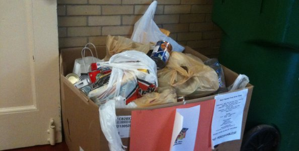 Food drive needs canned goods, plastic containers, health products, no perishibles