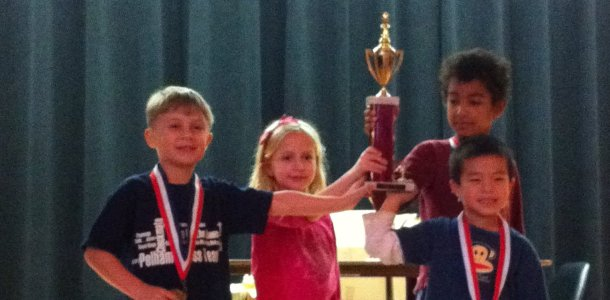 Colonial K-1 chess team wins 1st place in Daniel Webster Tournament