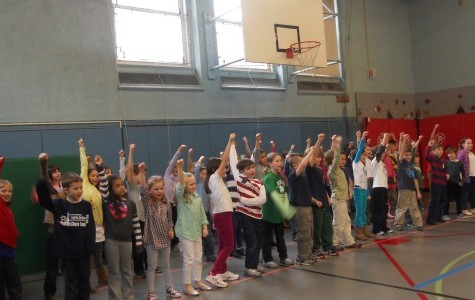 Second graders put on performance of musical show 'Free to Be You and Me'