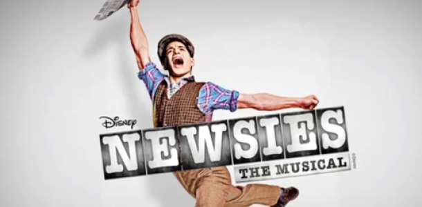 Image result for newsies poster