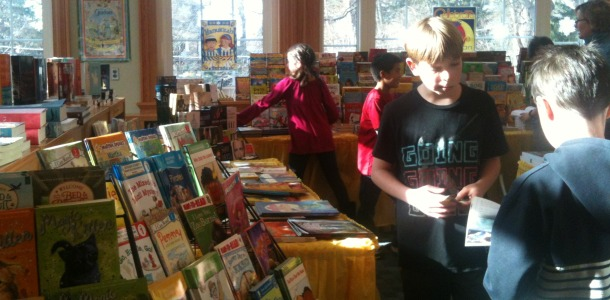 Successful book fair offers students lots of choices for their reading