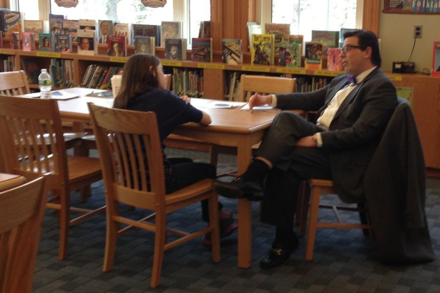 Assistant Superintendent Peter Giarrizzo, who will become superintendent of schools in July, was interviewed by News Editor Charlotte Howard.