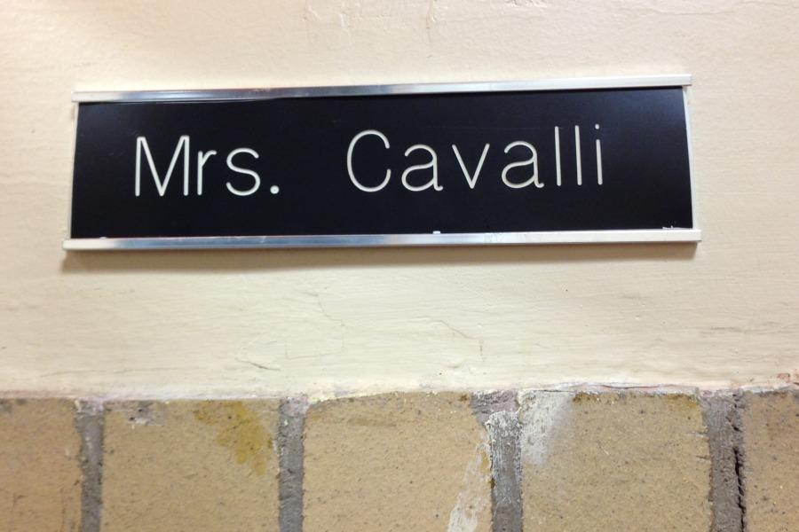 Four+teacher+nameplates+changed+rooms+this+year.+Mrs.+Cavalli%27s+moved+from+a+second+grade+to+a+fourth+grade+classroom.