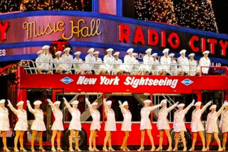The Christmas Spectacular at Radio City Music Hall is truly that—with high kicks, Santa and 3D