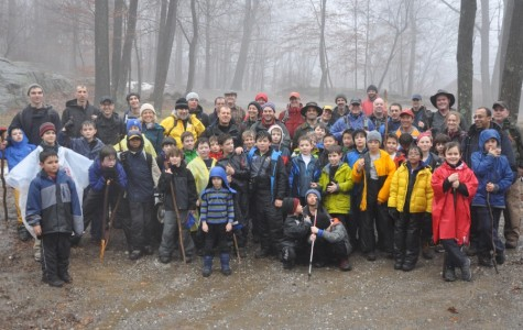 Cub Scouts go on Winter overnight trip in cabin at scout camp