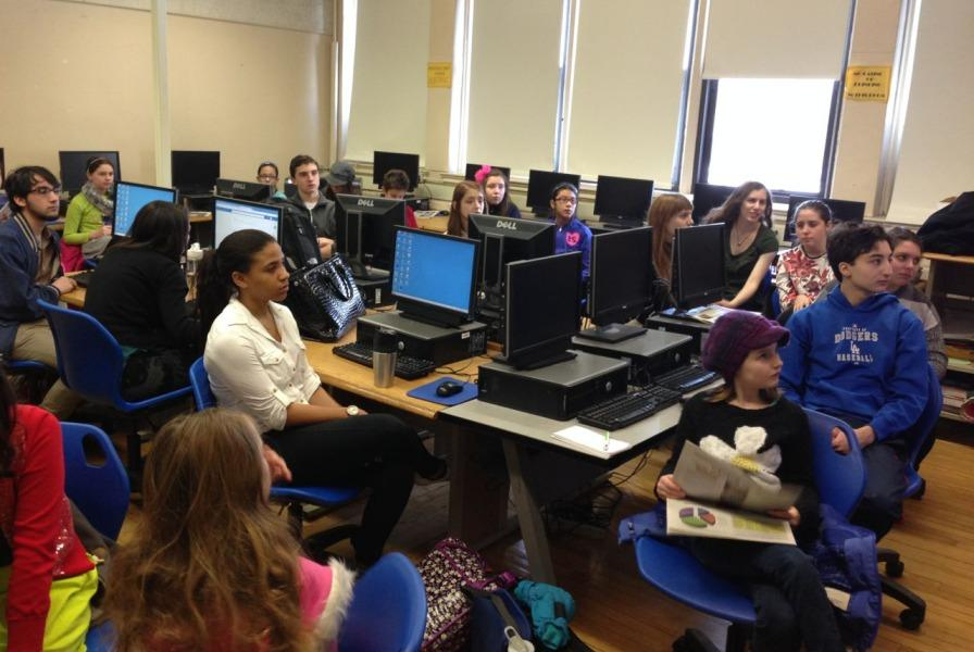 Colonial Times editors joined Pel Mel editors in their newsroom to hear how their paper was produced.