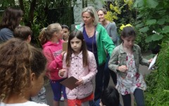Mrs. Lombardi on a 2014 field trip to the New York Botanical Gardens.
