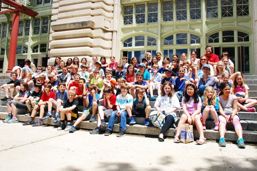 Fourth grade visits Ellis Island to explore immigrant experience (year-end print edition)