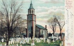 Fifth graders go to historic St. Paul's Church to learn of Revolutionary War hero John Glover