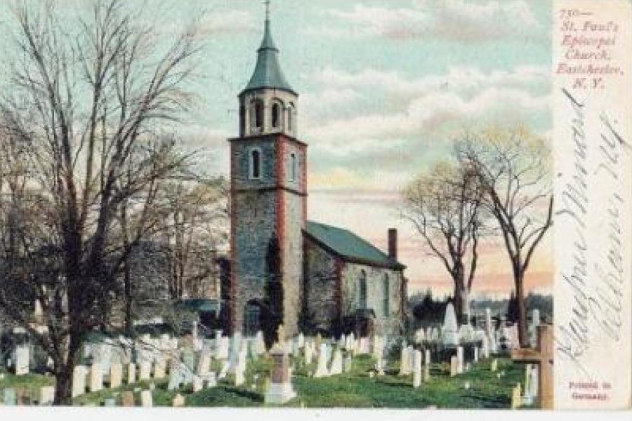 A+1907+postcard+of+Saint+Paul%27s+Church.
