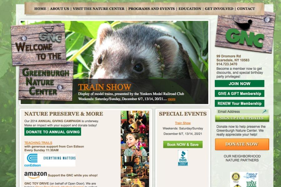 Greenburg Nature Center website.