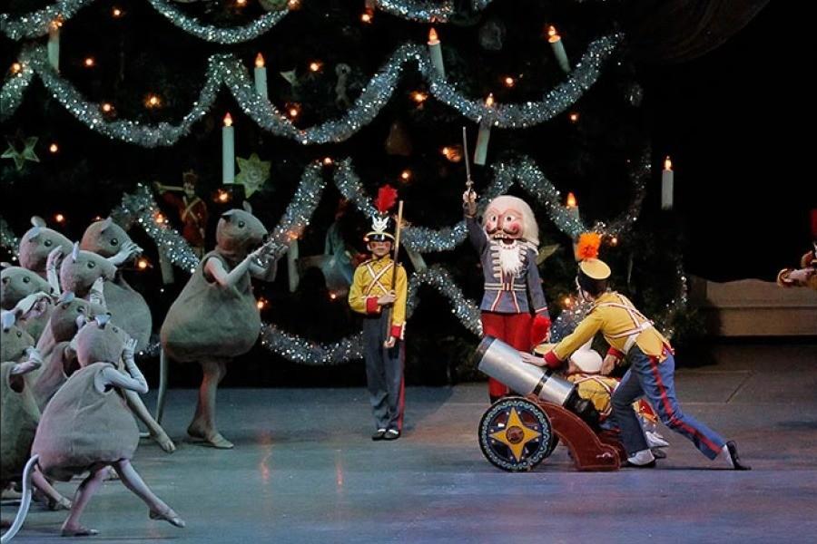 Fifth grader Sofia Carmona dances in NYC Ballet's 'The Nutcracker' at Lincoln Center