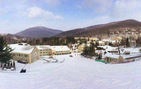 Great ski trip to Jiminy Peak includes awesome weather, one lift fall, movies and games