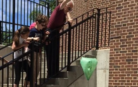 Fifth graders strengthen their teamwork with eggstronaut project