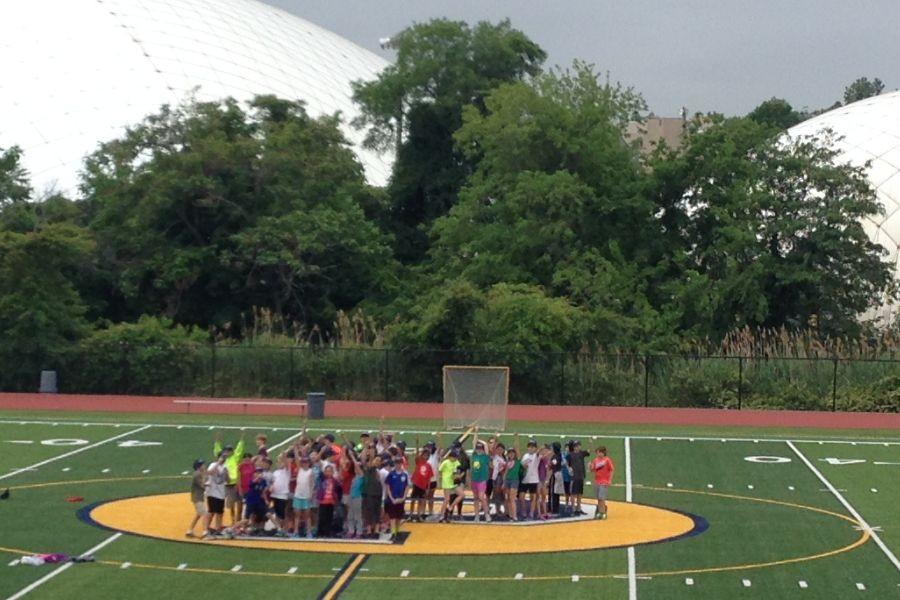 After field day, Colonial's fifth graders filled the