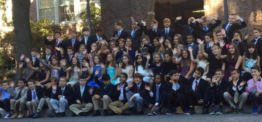 Fifth graders have mixed emotions about leaving Colonial in a few months
