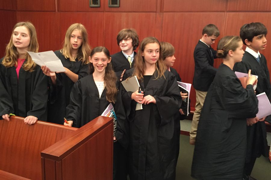 Supreme Court Justices were robbed and ready to hear the arguments.