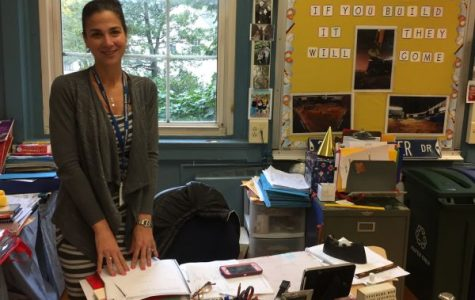 New fifth grade teacher, Mrs. Salerno, joins Colonial from PMS