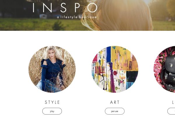 INSPO boutique's website.