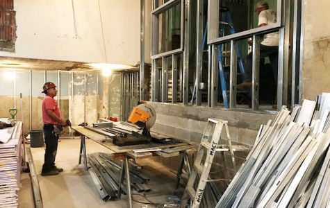 PMHS boys' & girls' locker room renovation stretches on