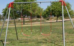Kids want new playground equipment like swings and monkey bars