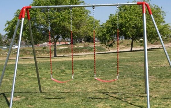 Kids want new playground equipment like swings and monkey bars
