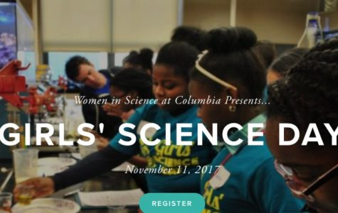 Columbia University's Girls' Science Day gives Colonial students chance to have fun and learn