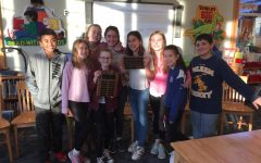 Last year's editors return to Colonial to give fourth and fifth graders tips about newspaper, middle school