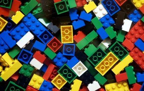 Free LEGOS to play with at recess