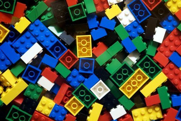 Free LEGOS to play with at recess