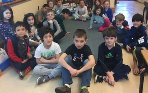 Fairy-tale visit by sixth graders (from our mid-year print edition)