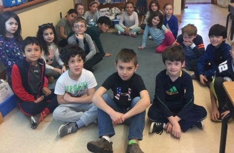 Fourth and fifth graders aid Colonial blood drive with babysitting, running canteen, opening doors