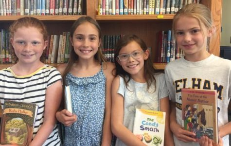 Five students bring Magic of Books to nearby school (from our June print edition)